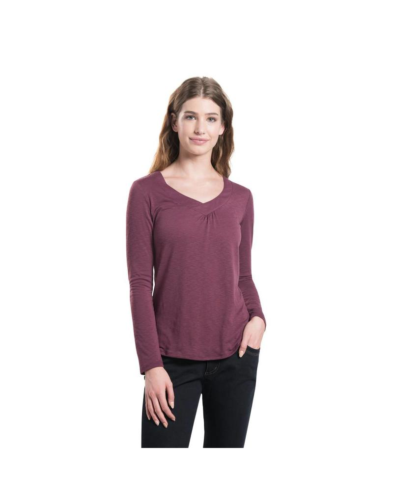 Kuhl Sona L/S Top Mulberry