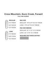 Big Agnes Gunn Creek 30 (Insotect Hot Stream) REGULAR LEFT Crimson