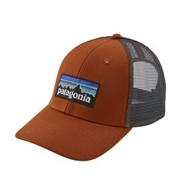 Patagonia P-6 Logo LoPro Trucker Hat Copper Ore ALL