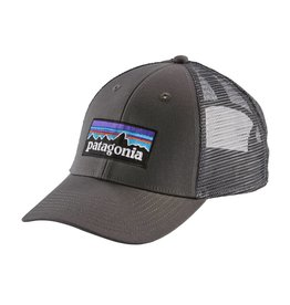 Patagonia P-6 Logo LoPro Trucker Hat Forge Grey w/Forge Grey ALL