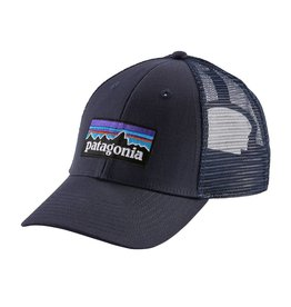 Patagonia P-6 Logo LoPro Trucker Hat Navy Blue w/Navy Blue ALL