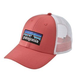 Patagonia P-6 Logo LoPro Trucker Hat Spiced Coral ALL