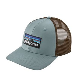 Patagonia P-6 Logo Trucker Hat Cadet Blue ALL