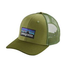 Patagonia P-6 Logo Trucker Hat Cargo Green ALL