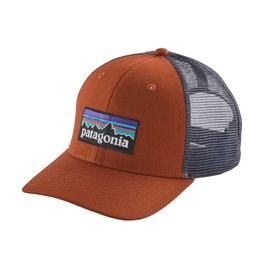 Patagonia P-6 Logo Trucker Hat Copper Ore ALL