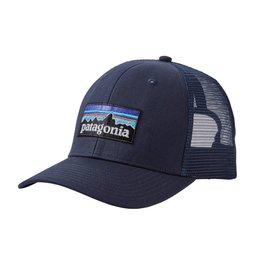 Patagonia P-6 Logo Trucker Hat Navy Blue w/Navy Blue ALL