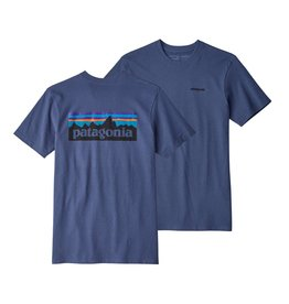 Patagonia Mens P-6 Logo Responsibili-Tee Dolomite Blue