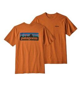 Patagonia Mens P-6 Logo Responsibili-Tee Marigold