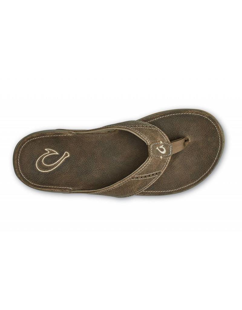 Olukai Nui Mens Sandal Clay/Clay