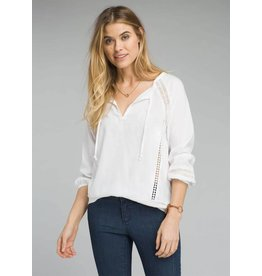 Prana Tacana Top White