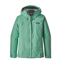 Patagonia Womens Torrentshell Jacket Vjosa Green