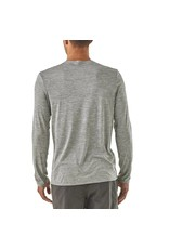 Patagonia Mens Cap Daily L/S T-Shirt Feather Grey