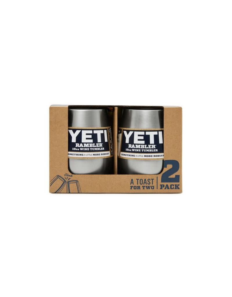 Yeti Rambler 10oz Wine 2 Pack White