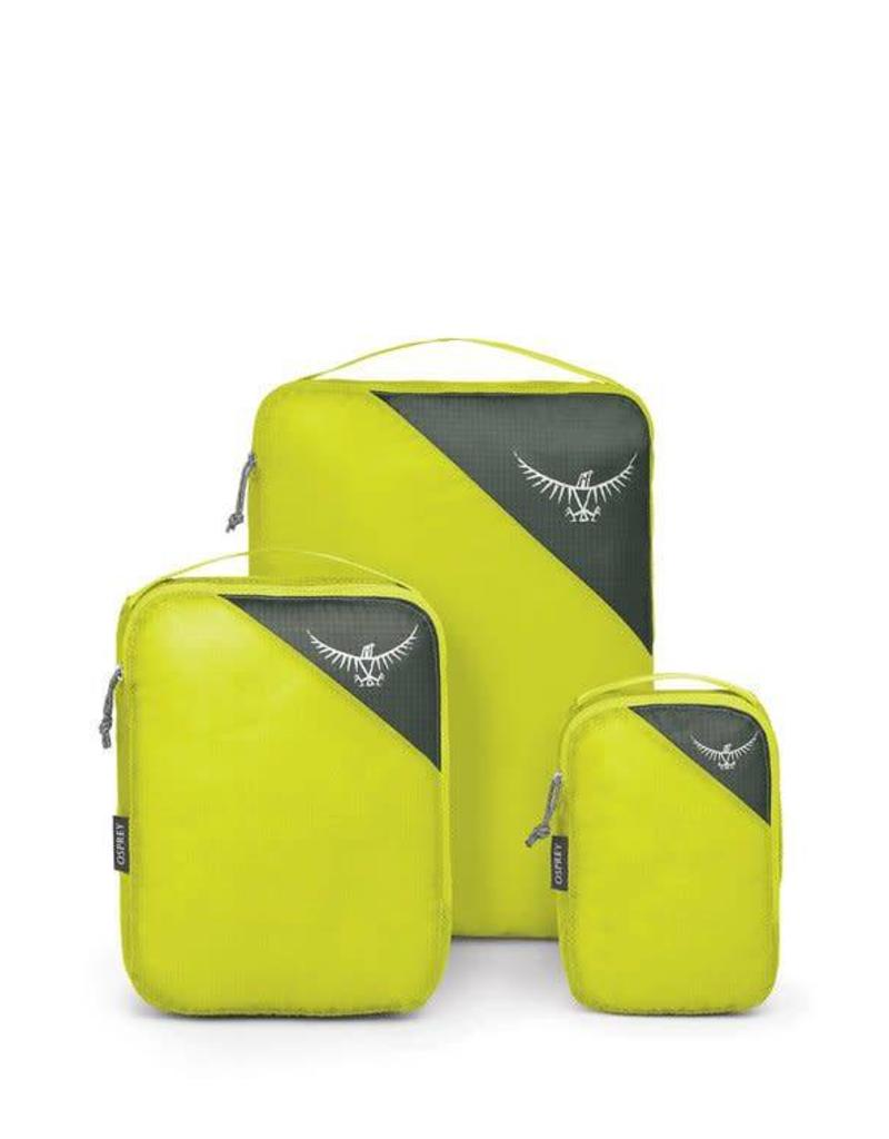 Osprey UL Packing Cube Set Electric Lime S/M/L