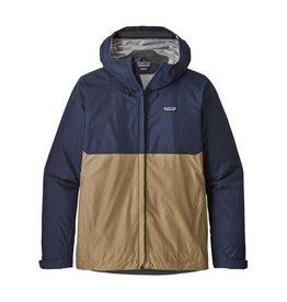 Patagonia Mens Torrentshell Jacket Classic Navy/ Mojave Khaki