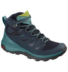 Salomon WOMEN'S OUTLINE MID GTX Navy Blaze/Hydro