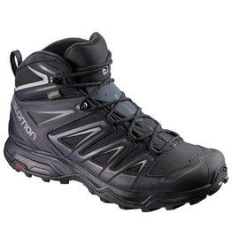 Salomon Mens X Ultra 3 Mid GTX Black