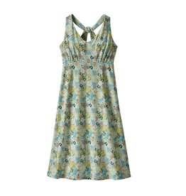 Patagonia Womens Magnolia Spring Dress Furnai Floral:Atoll Blue