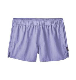 Patagonia Womens Barely Baggies Shorts Light Violet Blue