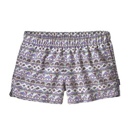 Patagonia Womens Barely Baggies Shorts Valengeo: Light Violet