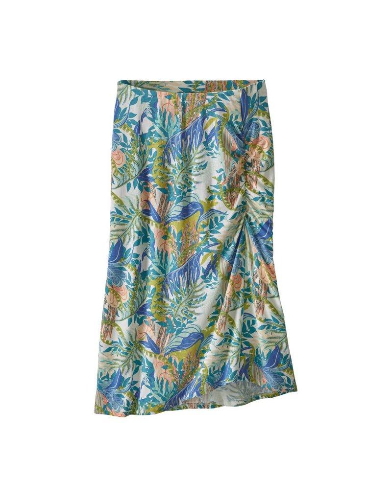 Patagonia Womens Dream Song Skirt Jurassic Ferns:Birch White