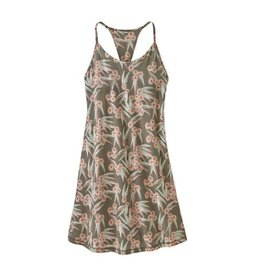 Patagonia Womens Edisto Dress Las Flores:Marrow Grey