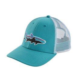 Patagonia Fitz Roy Tarpon LoPro Trucker Hat Mako Blue