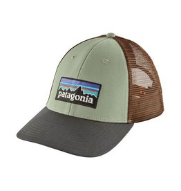 Patagonia P-6 Logo LoPro Trucker Hat Celadon
