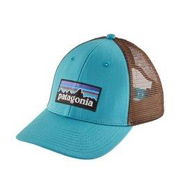 Patagonia P-6 Logo LoPro Trucker Hat Mako Blue