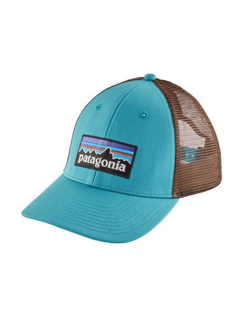 865366f4cfde4 P-6 Logo LoPro Trucker Hat Mako Blue - Tampa Bay Outfitters