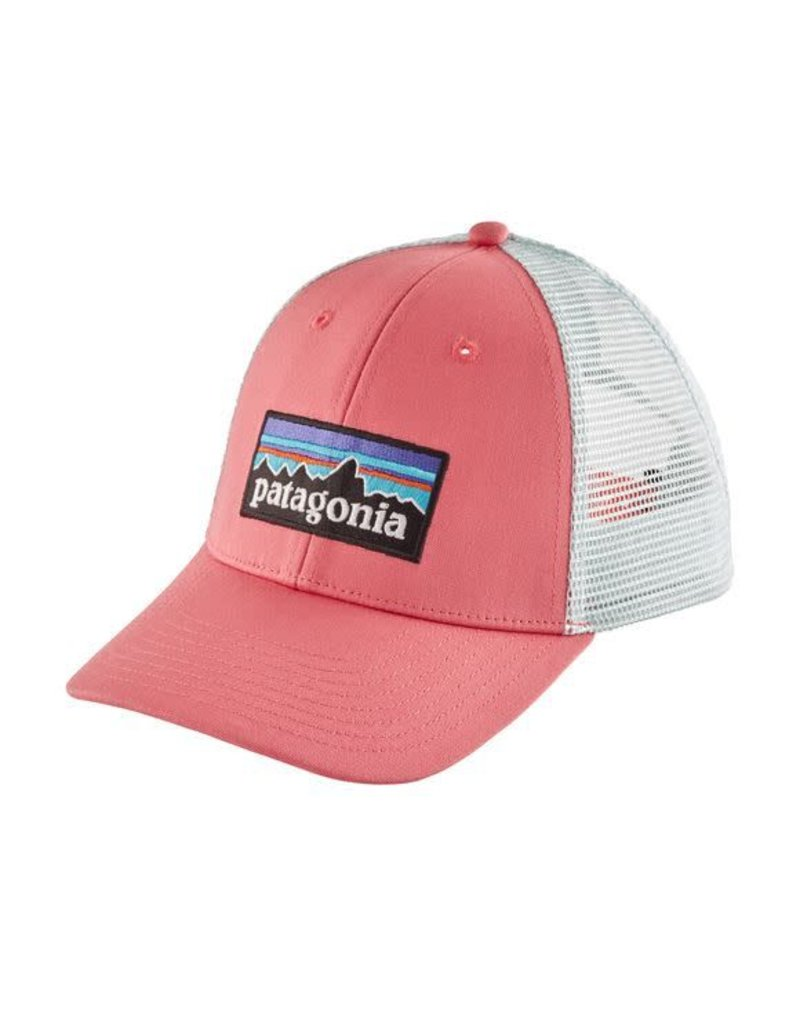 2f9a5eea7cd3c P-6 Logo LoPro Trucker Hat Sticker Pink - Tampa Bay Outfitters