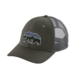 Patagonia Fitz Roy Bear Trucker Hat Forge Grey ALL