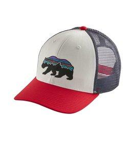 Patagonia Fitz Roy Bear Trucker Hat White ALL