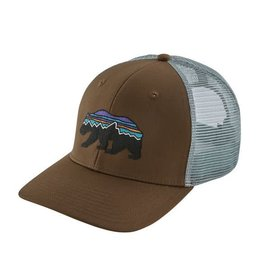 Patagonia Fitz Roy Bear Trucker Hat Timber Brown