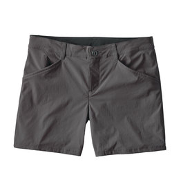 Patagonia Womens Quandary Shorts - 5 in. Forge Grey