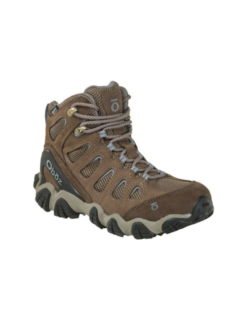Oboz Womens Sawtooth II Mid BDry Brindle/Tradewinds Blue