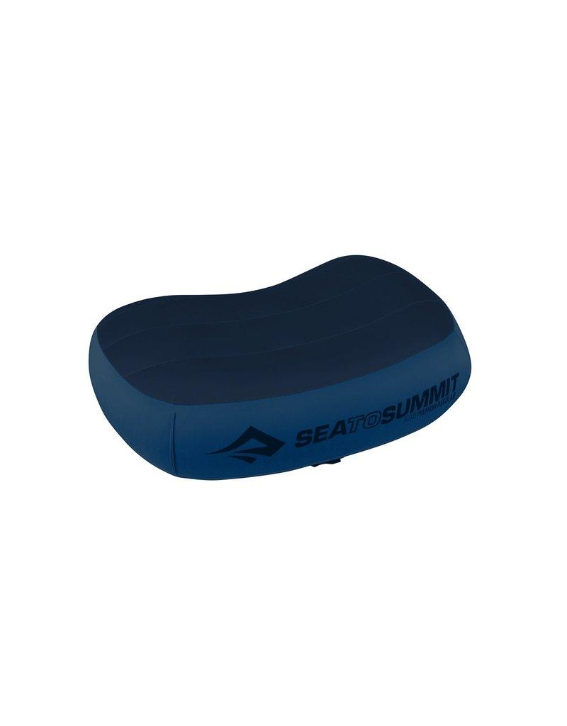Sea To Summit Aeros Pillow Premium - Regular - Navy Blue