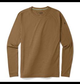 Smartwool Men's Merino 150 Baselayer Pattern Long Sleeve DARK DESERT SAND