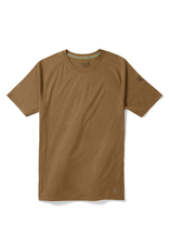Smartwool Men's Merino 150 Baselayer Pattern Short Sleeve DARK DESERT SAND