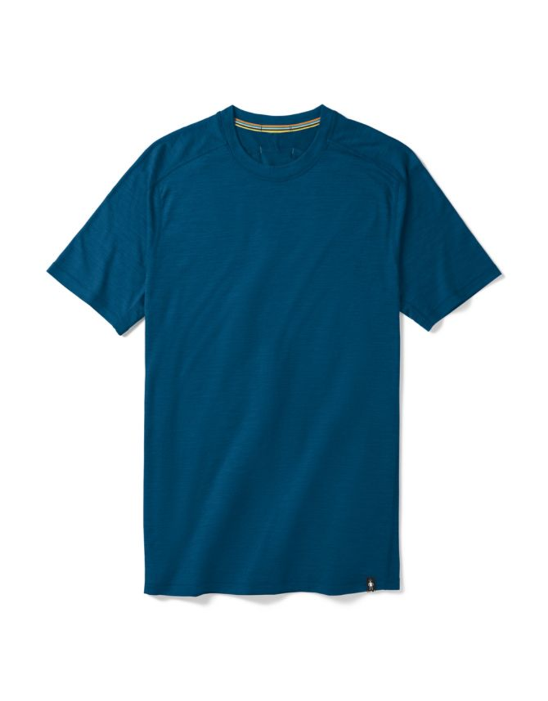 Smartwool Men's Merino Sport 150 Tech Tee ALPINE BLUE