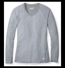 Smartwool Women Merino 150 Baselayer Pattern Long Sleeve Dark Pebble Gray