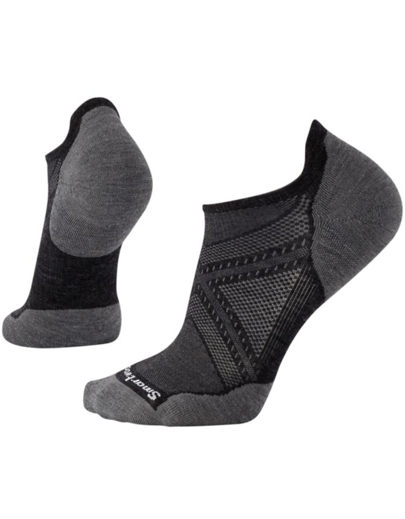 Smartwool PhDRun Light Elite Micro Charcoal
