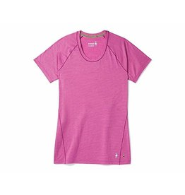 Smartwool Women's Merino 150 Baselayer Pattern Short Sleeve Meadow Mauve