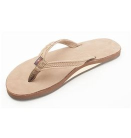 Rainbow Sandals Womens Madison Flip Dark Brown
