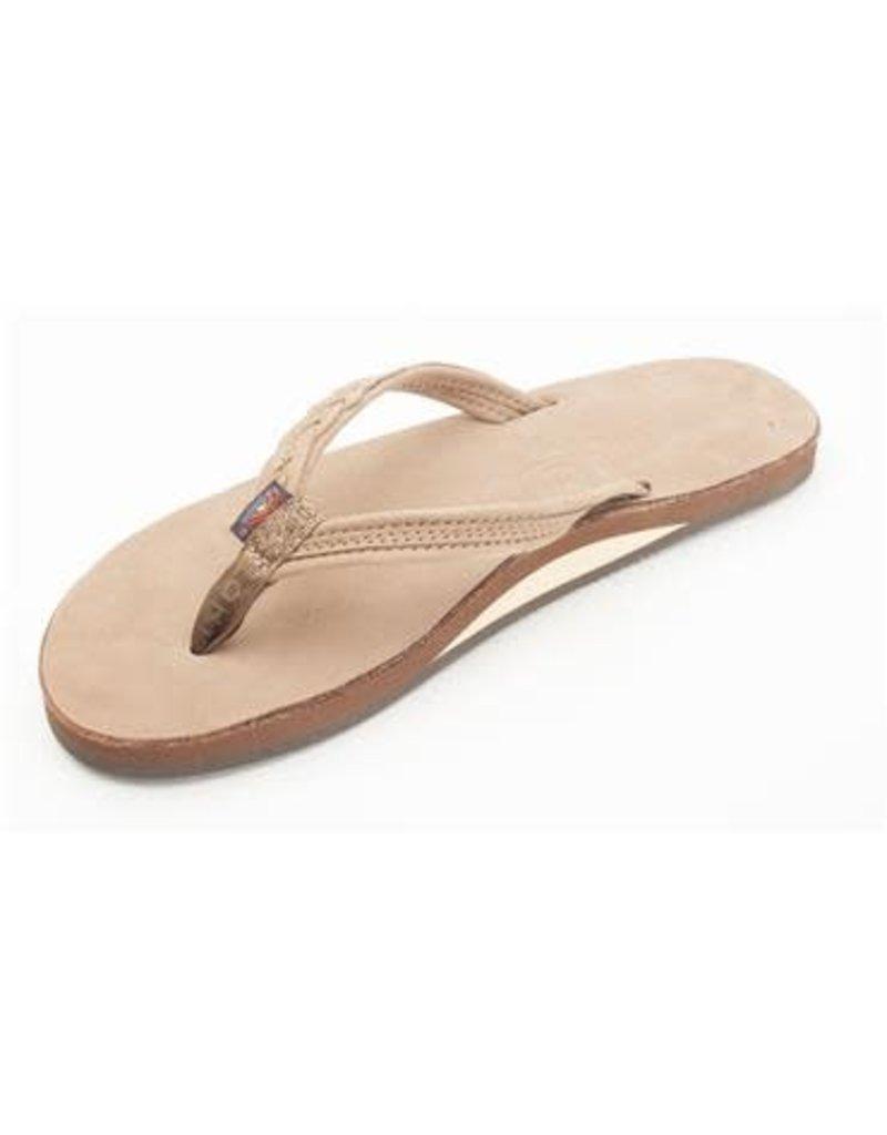 Rainbow Sandals Womens Madison Flip Dark Brown