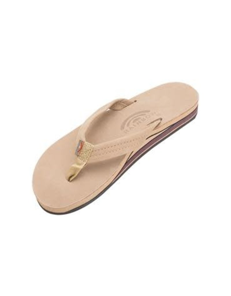 Rainbow Sandals Womens Premier Double Flip Sierra Brown