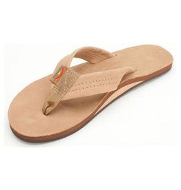 Rainbow Sandals Womens Premier Leather Flip Sierra Brown
