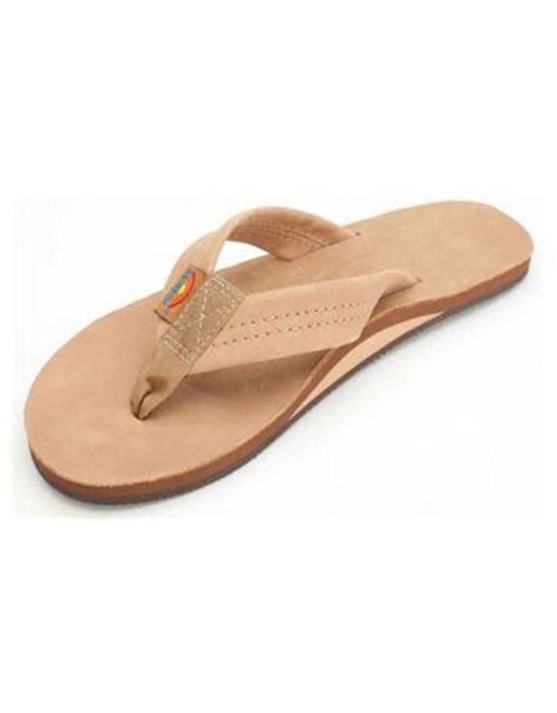 Rainbow Sandals Womens Premier Leather Flip Sierra Brown
