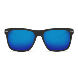 Aransas Matte Black  Blue Mirror 580G