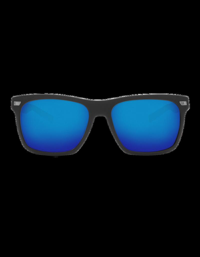 Costa Del Mar Aransas Matte Black  Blue Mirror 580G